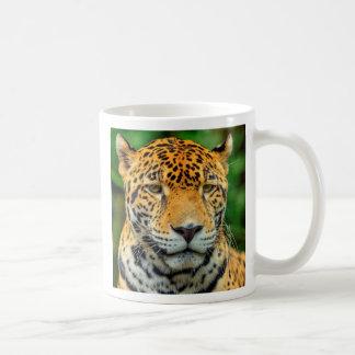 Close-up of a jaguar face, Belize Coffee Mug