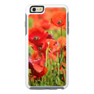 Close-up of a Poppy field, France OtterBox iPhone 6/6s Plus Case