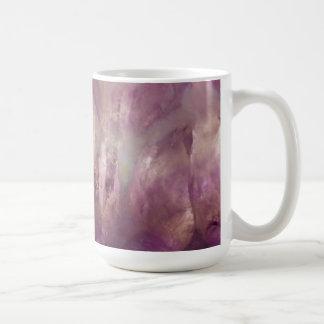 Close up of a purple Amethyst Coffee Mug