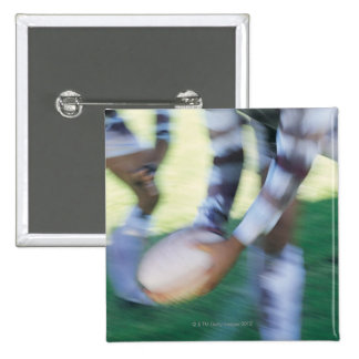 Close up of a Rugby Union Player Passing The 15 Cm Square Badge