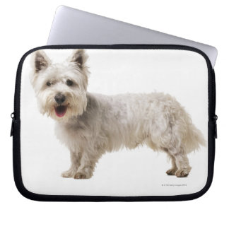 Close up of a terrier laptop computer sleeves