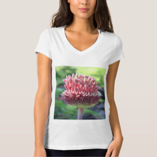 Close Up of An Ornamental Onion or Drumstick Alliu T-Shirt