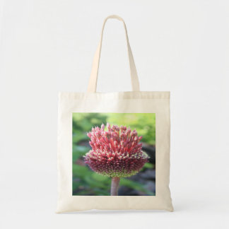 Close Up of An Ornamental Onion or Drumstick Alliu Tote Bag