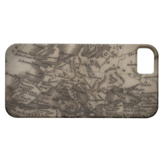 Close up of antique map of Europe Barely There iPhone 5 Case