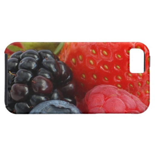 Close-up of berries iPhone 5 cases