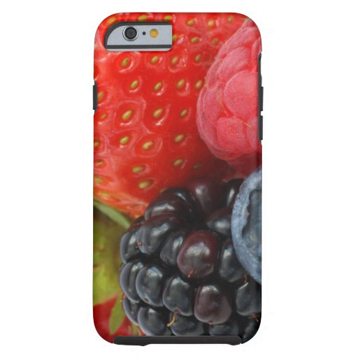 Close-up of berries iPhone 6 case