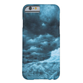 Close up of blue ice, Iceland Barely There iPhone 6 Case