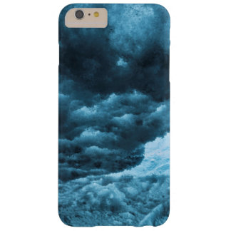 Close up of blue ice, Iceland Barely There iPhone 6 Plus Case