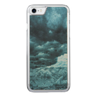 Close up of blue ice, Iceland Carved iPhone 8/7 Case
