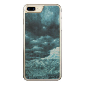 Close up of blue ice, Iceland Carved iPhone 8 Plus/7 Plus Case