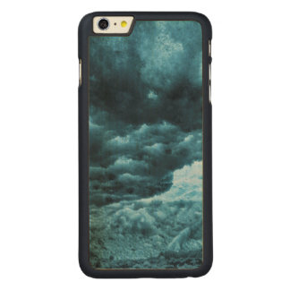 Close up of blue ice, Iceland Carved® Maple iPhone 6 Plus Case