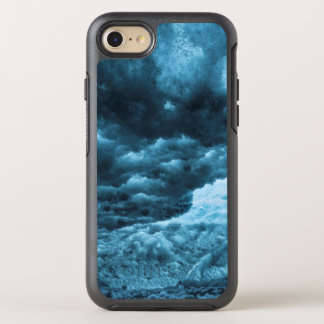 Close up of blue ice, Iceland OtterBox Symmetry iPhone 8/7 Case