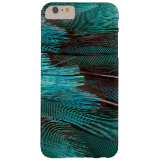 Close up of blue wing feathers barely there iPhone 6 plus case