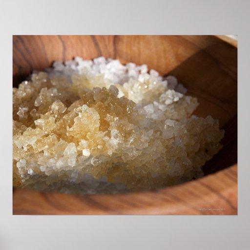 Close up of bowl of sugar print
