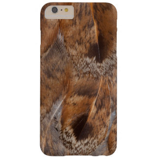 Close Up Of Brown Feathers Barely There iPhone 6 Plus Case