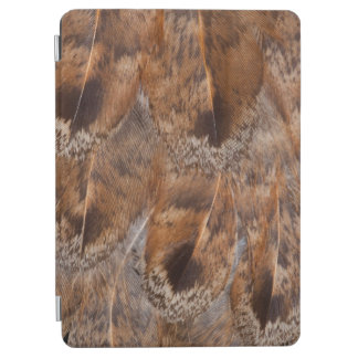 Close Up Of Brown Feathers iPad Air Cover