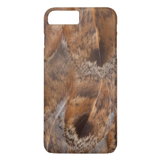 Close Up Of Brown Feathers iPhone 8 Plus/7 Plus Case