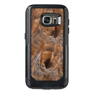 Close Up Of Brown Feathers OtterBox Samsung Galaxy S7 Case
