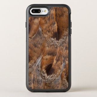 Close Up Of Brown Feathers OtterBox Symmetry iPhone 8 Plus/7 Plus Case