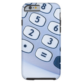 close-up of calculator buttons tough iPhone 6 case