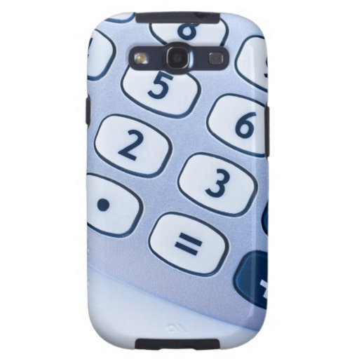 close-up of calculator buttons samsung galaxy SIII cover