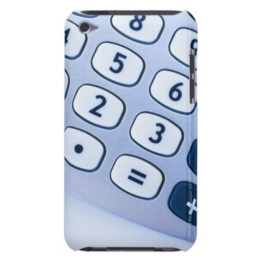 close-up of calculator buttons Case-Mate iPod touch case