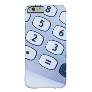 close-up of calculator buttons barely there iPhone 6 case