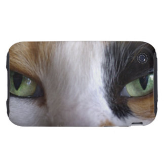 Close-up of cat's eyes iPhone 3 tough covers