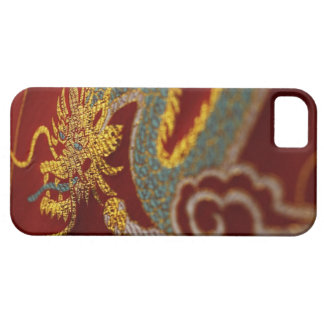 Close up of Chinese silk iPhone 5 Cover