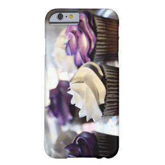 Close-up of cupcakes with selective focus on barely there iPhone 6 case