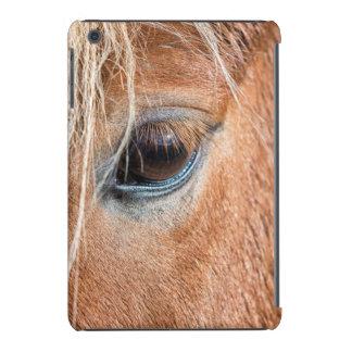 Close-up of eye and head of Icelandic horse iPad Mini Retina Cases