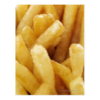 Close-up of French fries Postcard
