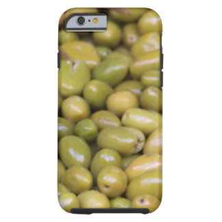 Close Up Of Green Olives Tough iPhone 6 Case