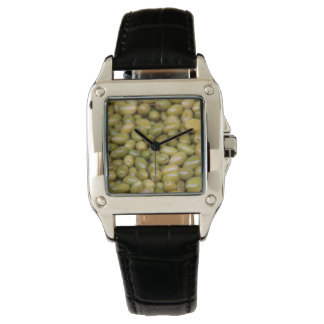 Close Up Of Green Olives Watch