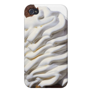 Close-up of ice cream cover for iPhone 4