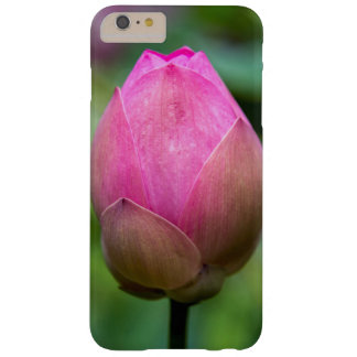 Close-up of lotus flower bud, Bali Barely There iPhone 6 Plus Case