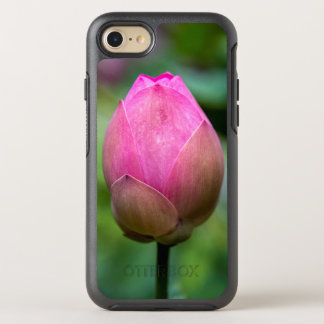 Close-up of lotus flower bud, Bali OtterBox Symmetry iPhone 8/7 Case