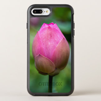 Close-up of lotus flower bud, Bali OtterBox Symmetry iPhone 8 Plus/7 Plus Case