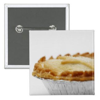Close-up of mince pie 15 cm square badge