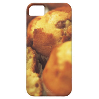 close-up of muffins (blurred) iPhone 5 cases