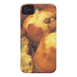 close-up of muffins (blurred) iPhone 4 case