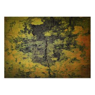 Close-up of natural bark texture business cards