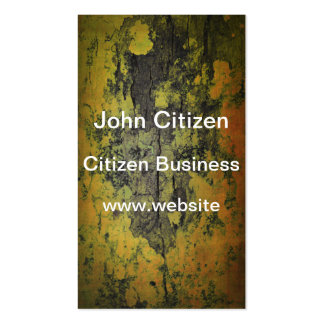 Close-up of natural bark texture business card template