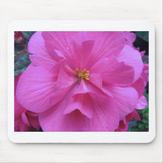 Close up of Pink Flower Mouse Pad