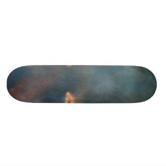 Close-up of 21.3 cm mini skateboard deck