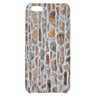 Close-up Of Stone Wall With Cement Case For iPhone 5C