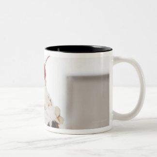 Close up of sundae with cherry on top mug