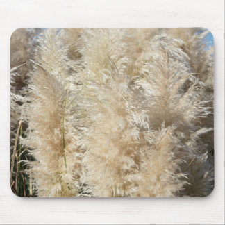 Close-Up of Tall Pampas Grass Plumes Mouse Pad
