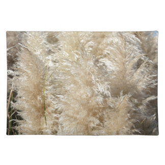 Close-Up of Tall Pampas Grass Plumes Placemat