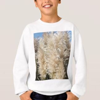 Close-Up of Tall Pampas Grass Plumes Sweatshirt